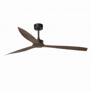 Wentylator sufitowy JUST FAN 33430 black/wood  XL FARO