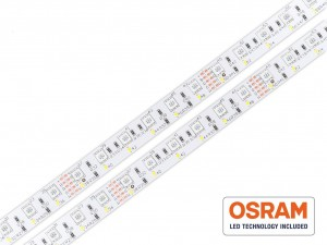 Taśma LED RGBW 5050+OSRAM DURIS E3 600 LED