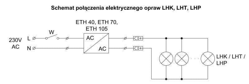 Lampa Halogenowa Prostokątna Z Wyłącznikiem Lhp2w 1